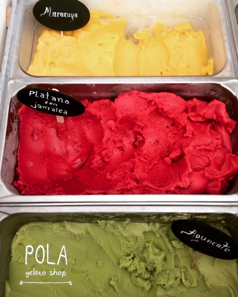 ice-creams at POLA