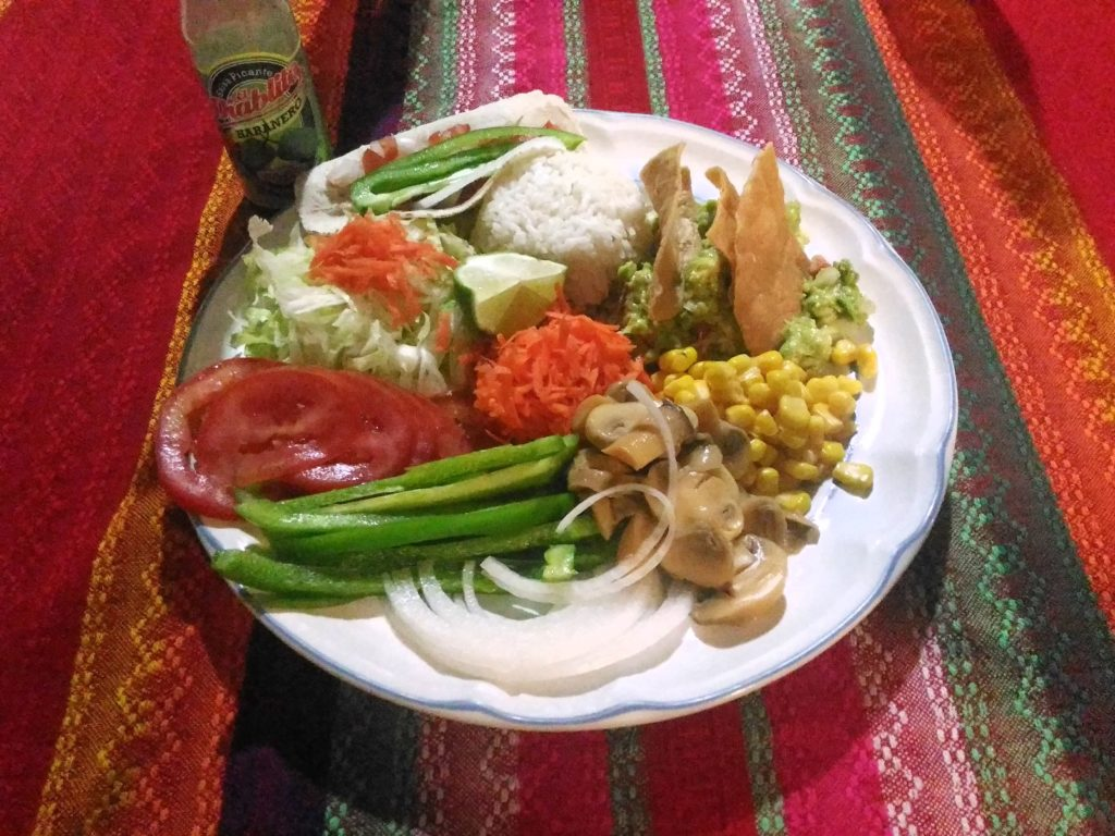 rice with vegetables in Yucatán