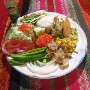 Vegan food in the Yucatán Peninsula