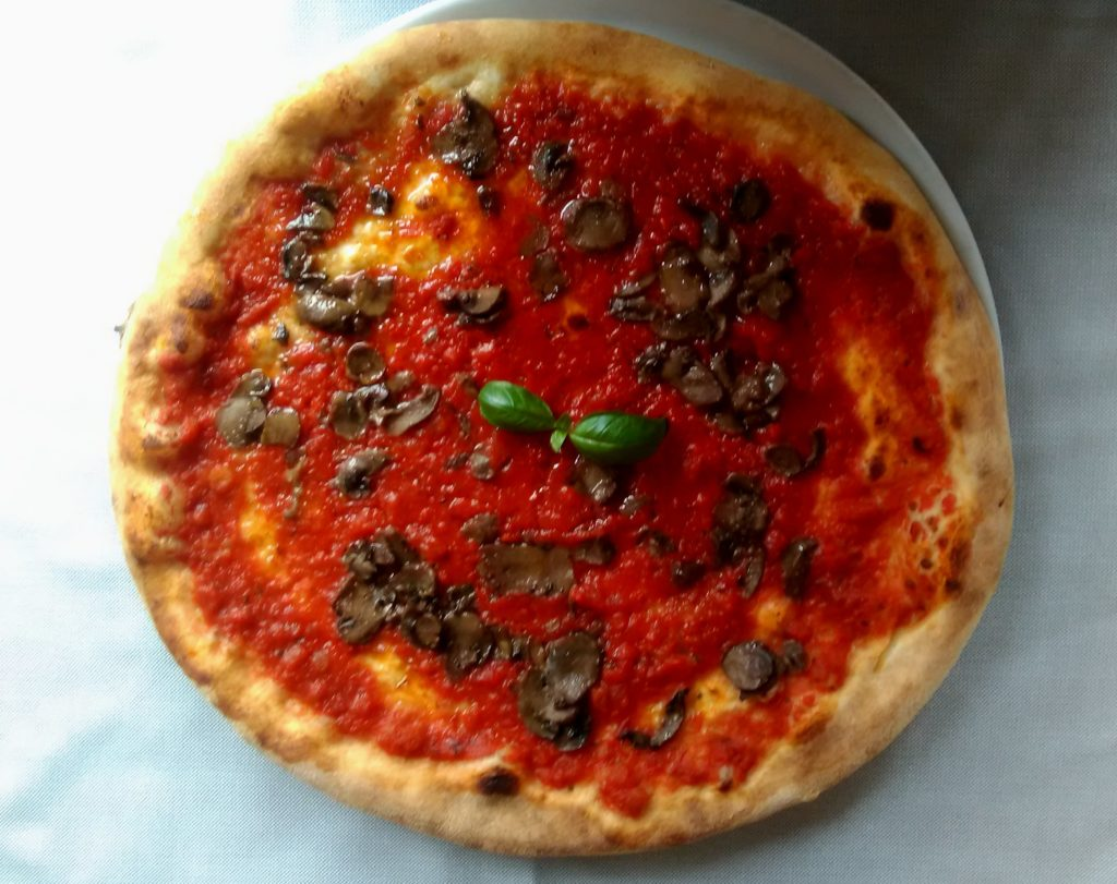 marinara with mushrooms