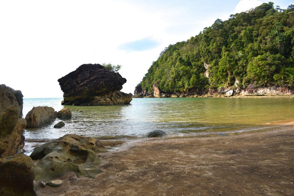 beach at Bako Park