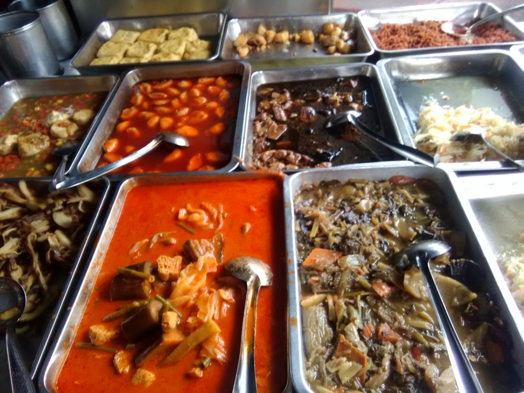 vegan buffet in Kimberly Street