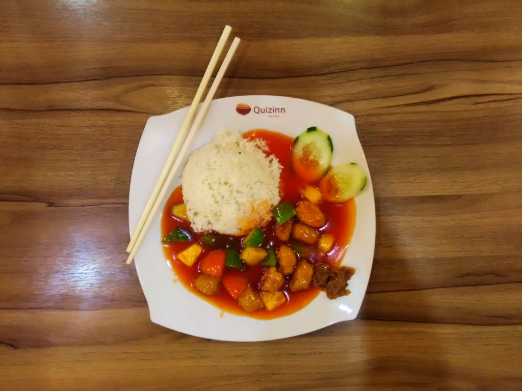 vegan food Sentral Station