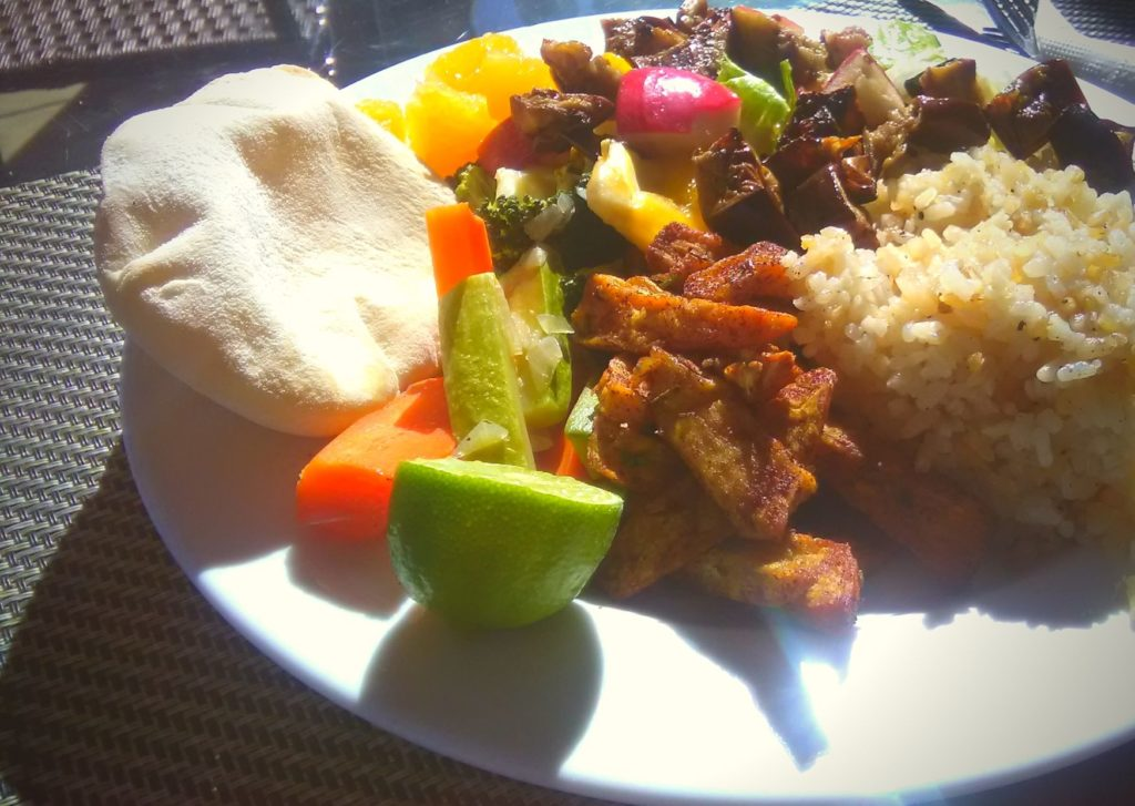 vegan food in the red sea